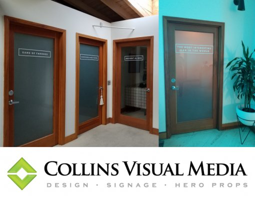 Door Decals Collins Visual Media