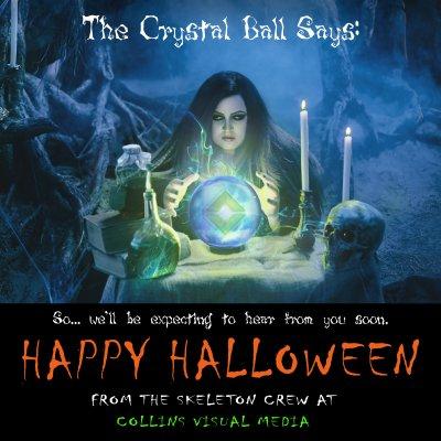 Happy Halloween from the Skeleton Crew!