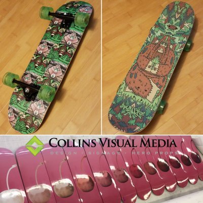 Hit the parks in style with your custom board!