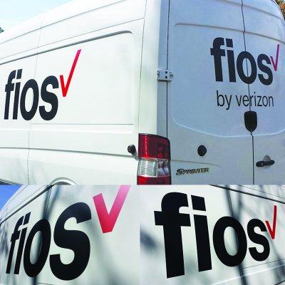 Verizon Fios Vehicle Graphics