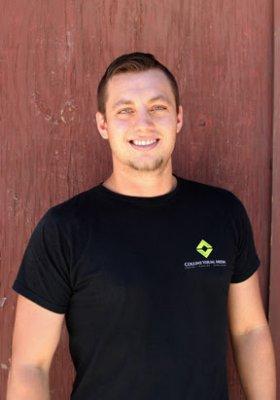 Cody Goetz (CJ), Production Manager.