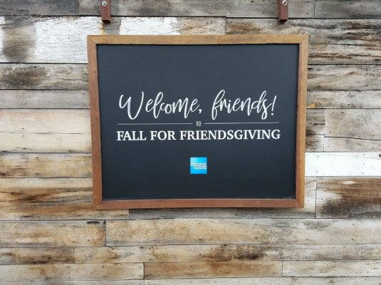 We printed these menus and signage for an American Express Friendsgiving celebration at Eveleigh Restaurant in West Hollywood.