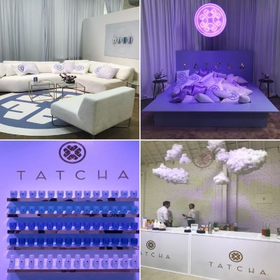 We did tons of stuff for Tatcha's relaunch party, #polishedbytatcha!