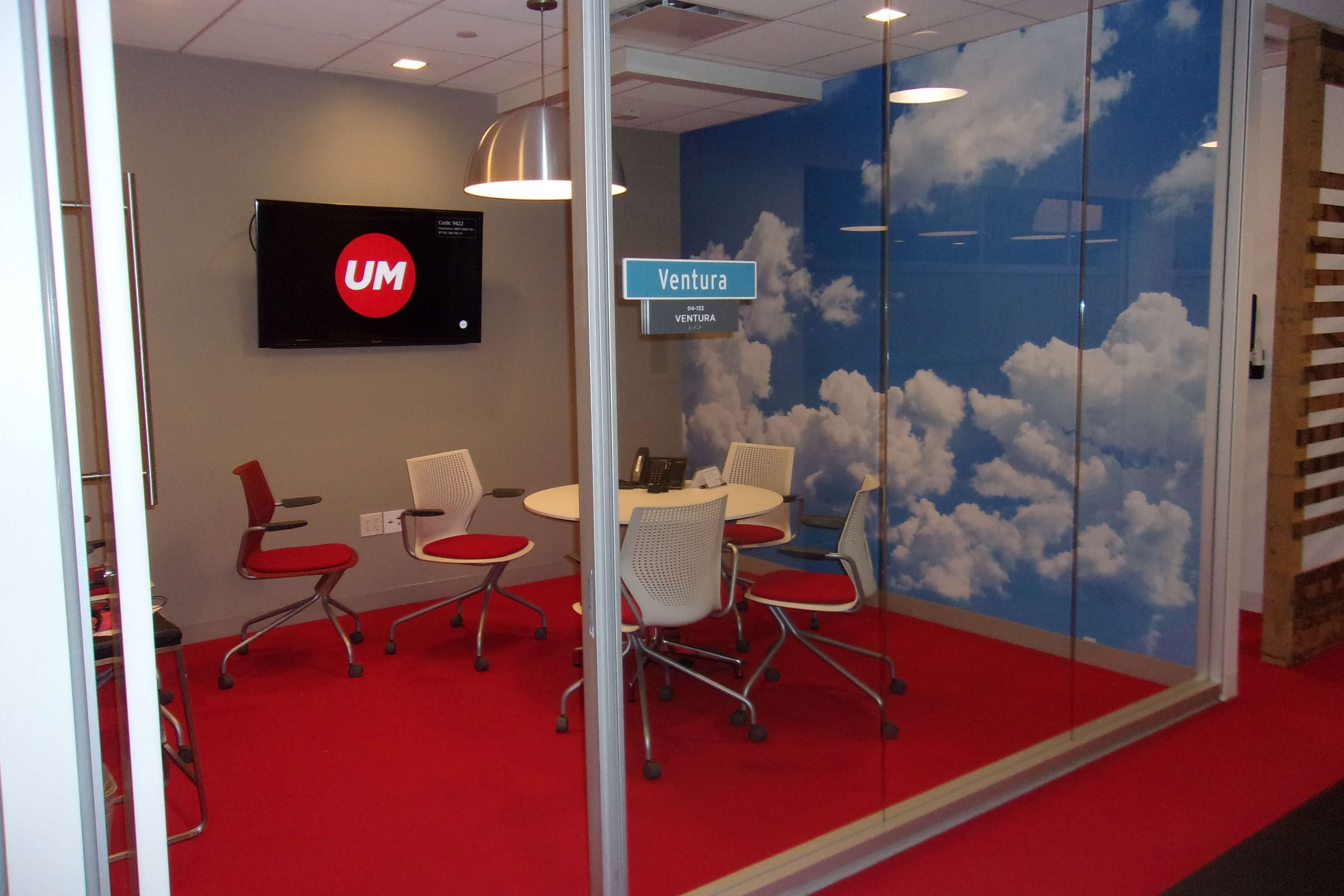 Clouds Wall Graphics