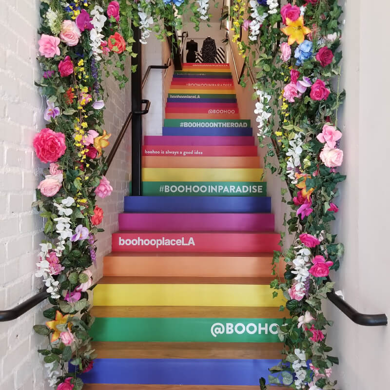 Awesome BooHoo Stairs!